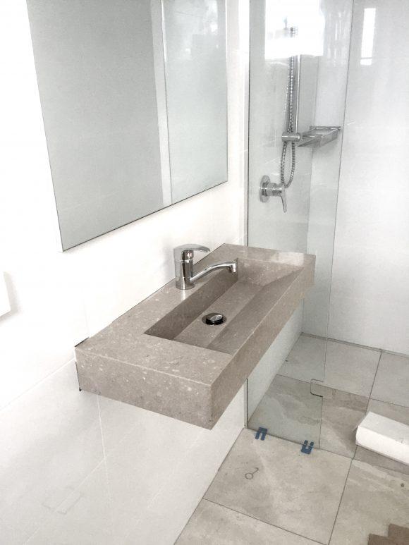 Custom Made Caesarstone Vanity Basin