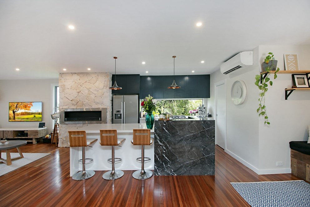 Grigio Carnico Marble with Alpine White Benchtops Gold Coast - About